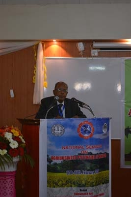 2.Speech by Coordinator of the seminar