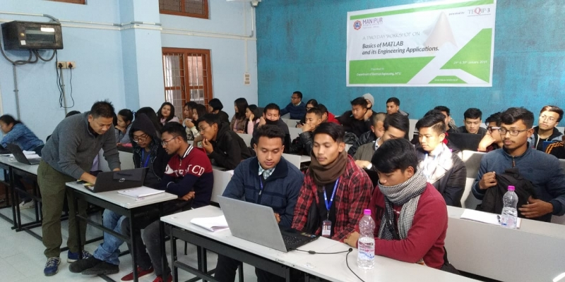 Practical session on MATLAB for handson experience