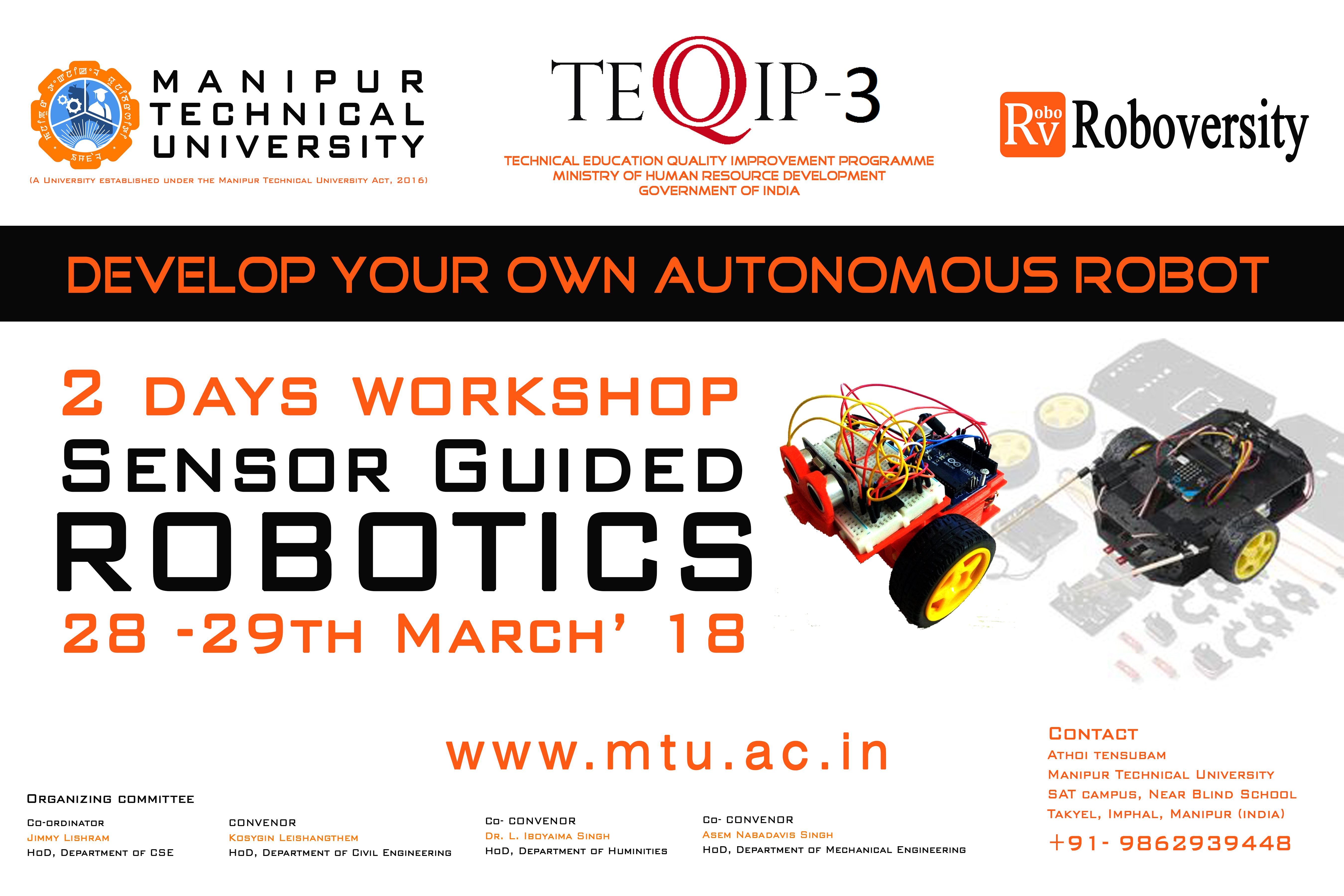 Two Days Workshop On Sensor Guided Robotics In Collaboration With